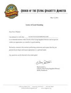 letter of standing template letter standing template best free home design