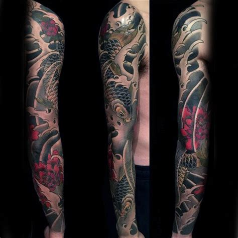 japanese style tattoos for men 120 japanese sleeve tattoos for masculine design ideas