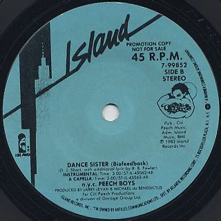 N Y Records N Y C Peech Boys 7 7inch Island Records 中古レコード