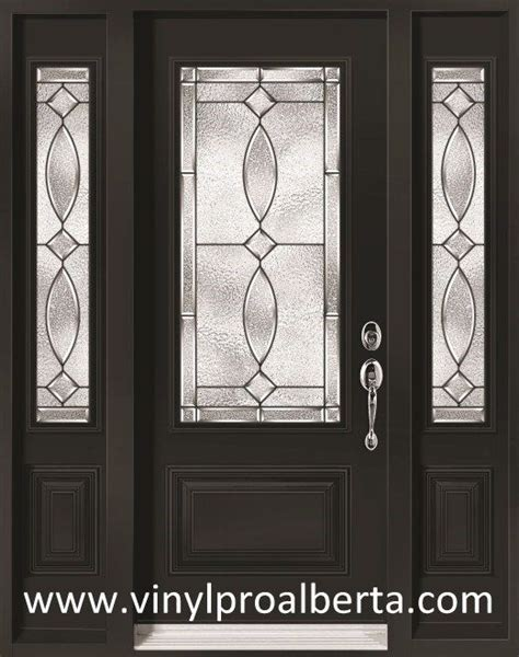 Steel Front Door With Sidelights Exterior Steel Entry Door With 2 Sidelights 3 4 Glass Quot Quot Ideas For The House