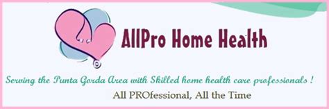 allpro home health care serving punta gorda and the