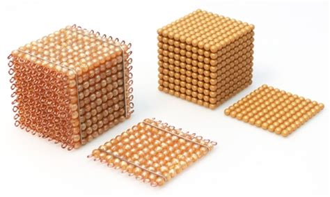 montessori bead material for bead cabinet