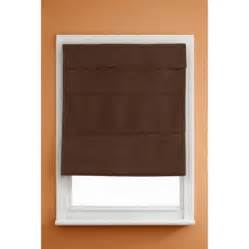 walmart window coverings kenney cordless thermal blackout shade chocolate