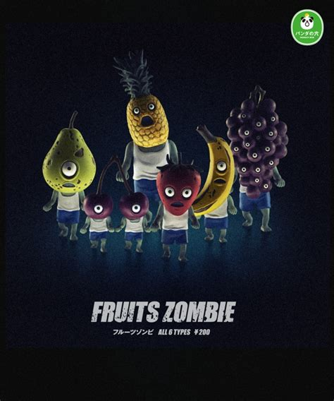 fruit zombies rotten fruit comes to with undead fruits toys