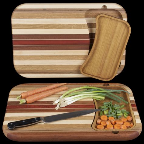cutting board with trays cutting boards hardwood cutting board with removable