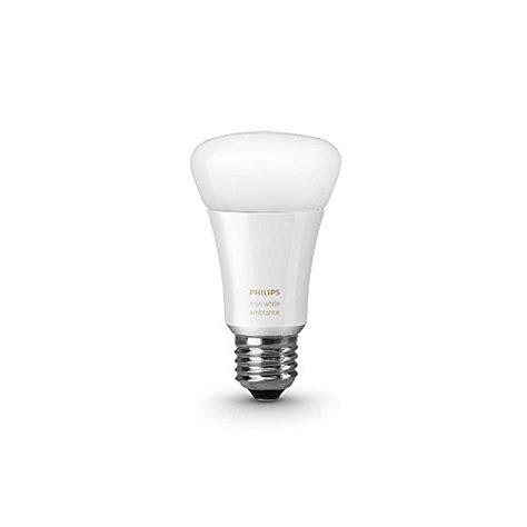 hue light bulbs amazon philips 461020 hue white ambiance single a19 bulb works