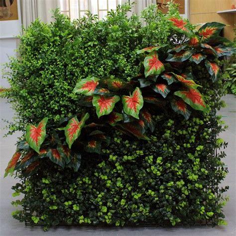 diy artificial green walls vertical garden green