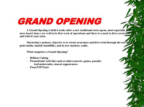 Invitation Letter New Store Opening 7 Steps To Establish Lsm Local Store Marketing