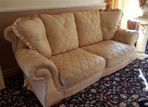 soft leather sofas sale fabulous soft leather cream 3 seater sofa for sale in