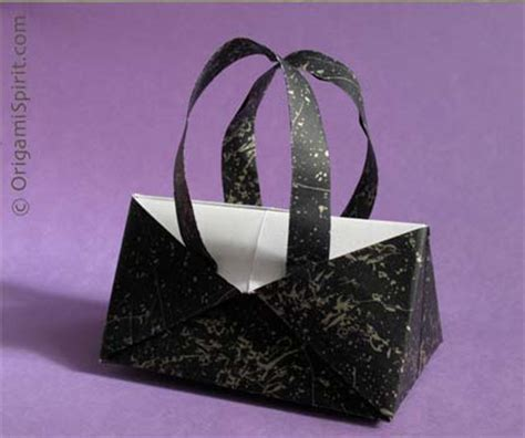 origami purse a contemporary origami handbag