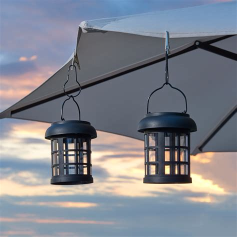 Smart Solar Hanging Lantern Umbrella Decor Lights Set Of Decorative Hanging Solar Lights