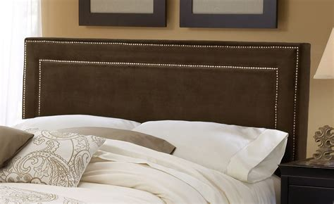 Fabric Headboard by Hillsdale Fabric Headboard Chocolate Hd 1554hqra