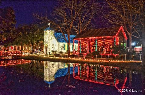 christmas lights in lafayette la christmas time at acadian village in lafayette la