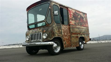 jeep mail van 1962 jeep fj3a fleetvan willys patina rat rod mail