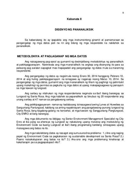 thesis abstract sle tagalog thesis pananaliksik tagalog