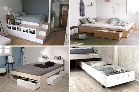 bed organization 9 ideas for the bed storage contemporist