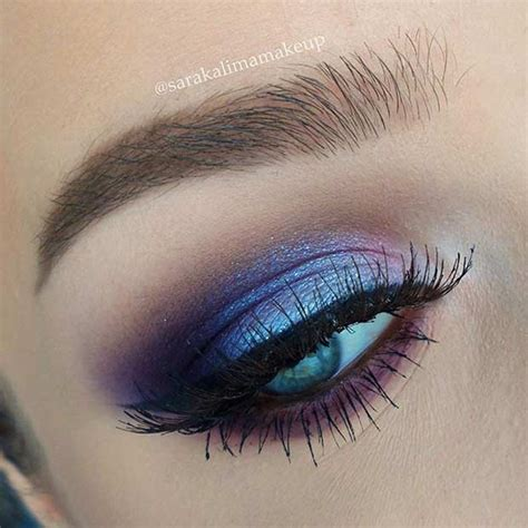 Eyeshadow For Blue 31 eye makeup ideas for blue stayglam