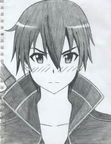 Online Drawing Kirito Sword Art Online By Tsurakuunai On Deviantart