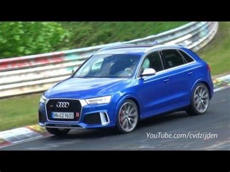 Audi Q8 Tieferlegen by Finale Testrunden Audi Rs Q3 Auf Dem N 252 Rburgring