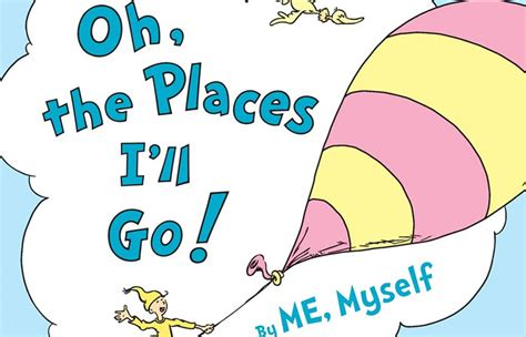 collaborate with dr seuss on oh the places i ll go by