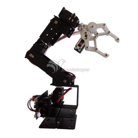 Arm Robot Only Frame 1 robot 6 dof aluminium cl claw mount kit mechanical