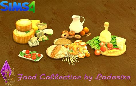 cc food clutter sims 4 sims 4 clutter and mesh on pinterest