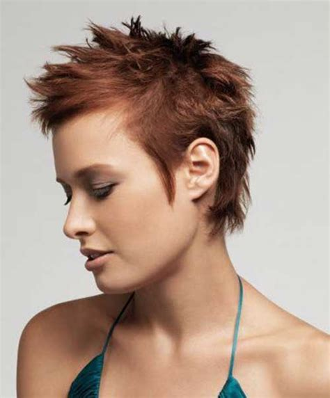spiked hair styles for women 30 spiky short haircuts short hairstyles 2017 2018