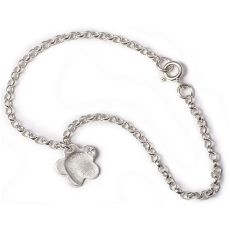 belcher chain charm bracelet with small charms knr