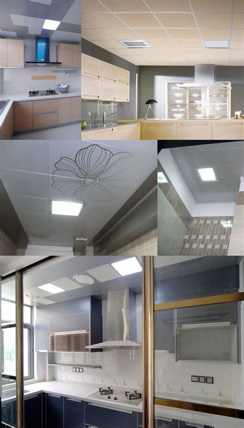 kitchen light panels 12w flat ceiling led panel light recessed led panel led