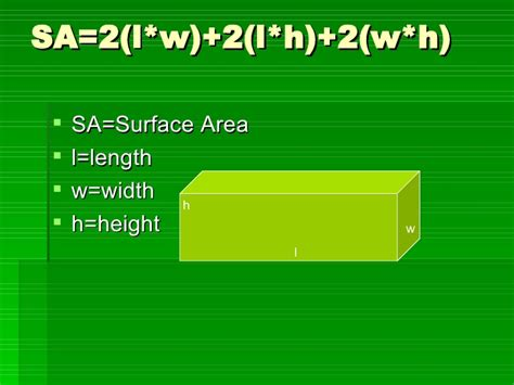 How Do You Search How Do You Find The Surface Area Of A Right Rectangular Prism