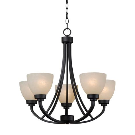 Five Light Chandelier Shop Kenroy Home Silk 24 In 5 Light Burnished Bronze Tinted Glass Shaded Chandelier At Lowes