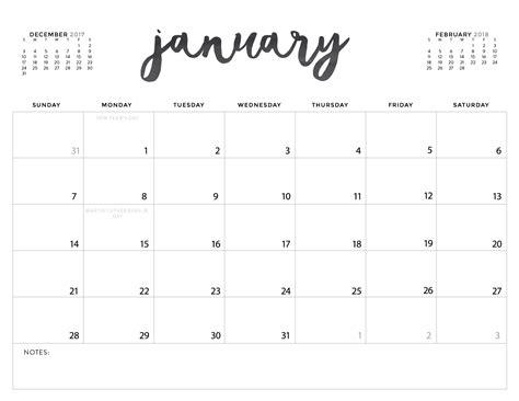 printable calendar no download download printable calendars printable 2018 calendar