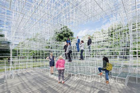 designboom sou fujimoto sou fujimoto s serpentine gallery pavilion opens