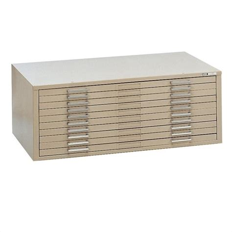 mayline files 10 drawer metal flat files cabinet 7977c