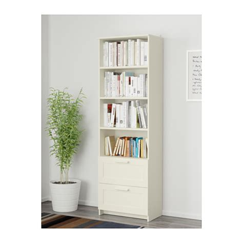 White Bookcases With Drawers by Brimnes Bookcase White 60x190 Cm