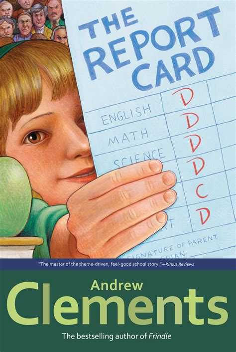 report card book the report card book by andrew clements official