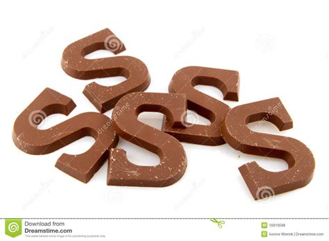 chocolate letters royalty free stock photos image 16919598