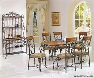 Wrought Iron Dining Room Set by Wrought Iron Dining Sets