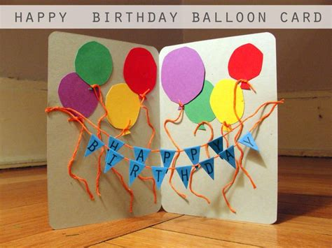 Happy Birthday Papercraft - pintrest birthday craft ideas happy birthday