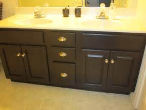 create toots bathroom cabinet makeover