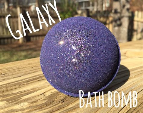 Galaxy Bathbombs With Essential Oils galaxy bath bomb moisturizing lavender essential galaxy space glitter or safe