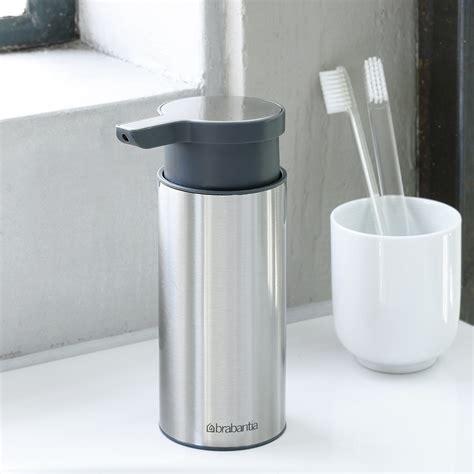 brabantia bathroom accessories buy brabantia soap dispenser matt steel amara