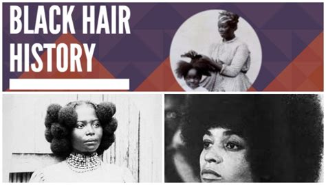 black hairstyles history infographic black hair history