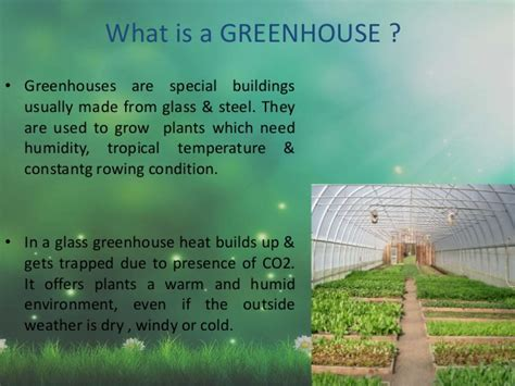 presentation on greenhouse effect climate change