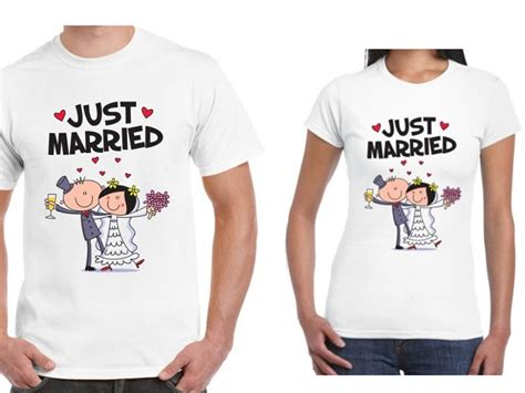 Married Shirt Design Get Cheap Just Married T Shirt Aliexpress
