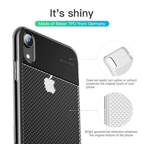 baseus glistening transparent for iphone xr 6 1
