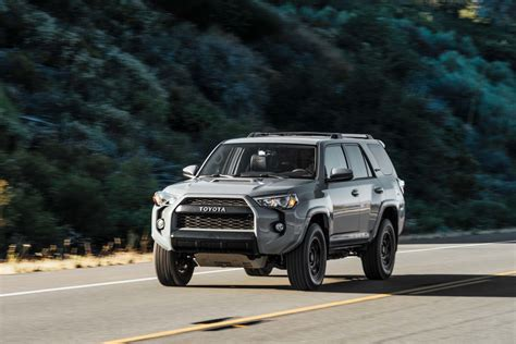 toyota 4runner 2017 toyota 4runner trd pro first test review motor trend
