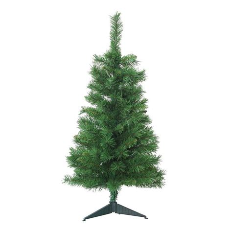3 foot artificial trees home accents 3 ft unlit tacoma pine artificial