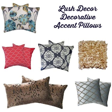 update your home with lush decor decorative accent pillows