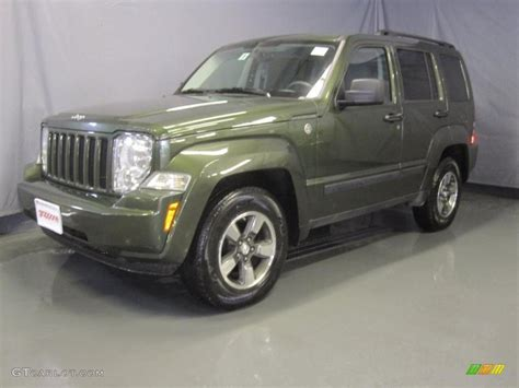 green jeep liberty 2008 2008 jeep green metallic jeep liberty sport 4x4 31478309